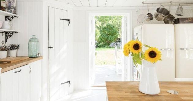 cuisine porte ouverte