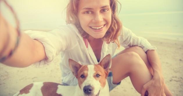 Prendre son chien en photo