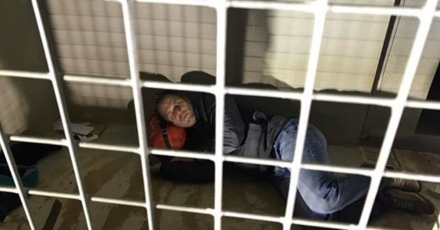 Rémi Gaillard cage spa