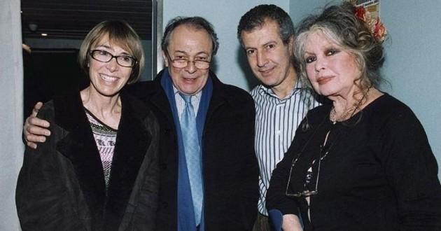 Michel Rocard et Brigitte Bardot