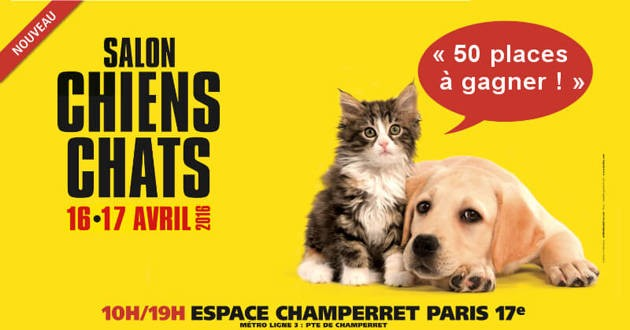 Gagnants Salon Chiens Chats