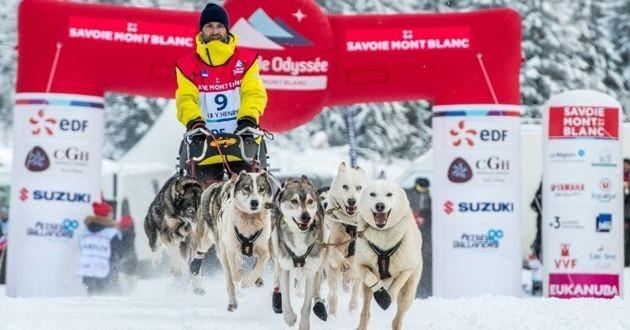 Course de La Grande Odyssée Savoie Mont Blanc