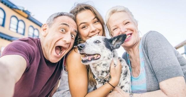 Chien famille meilleur ami
