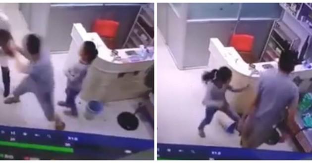 violence chez le vétérinaire filmée par caméra