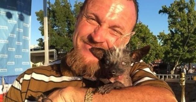 Sweepee Rambo chien le plus moche du monde