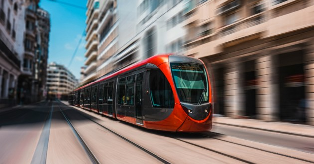 rail du tram