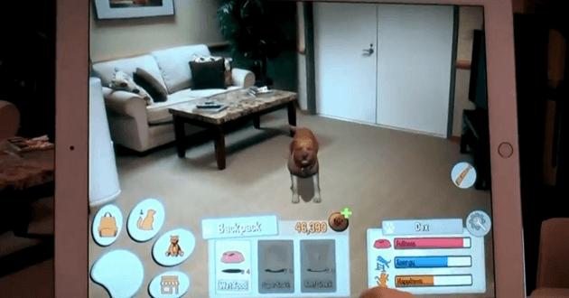 Dex your AR dog companion