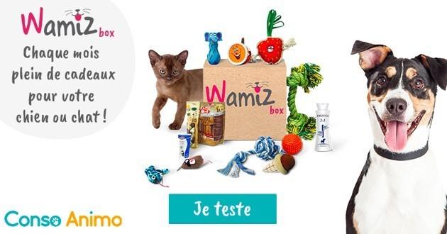 Testez la nouvelle Wamiz Box en exclusivité avec Conso Animo !