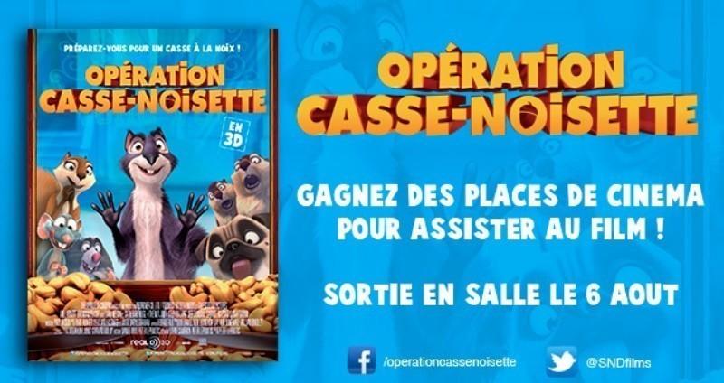 Concours : avez vous gagné des places pour le film Opération Casse-Noisette ?