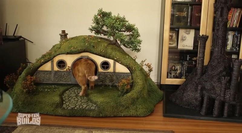 litiere chat hobbit