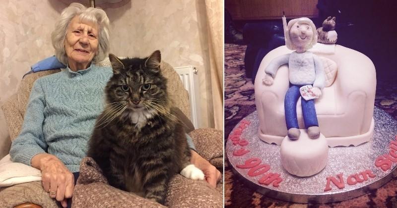 Quand un chat géant redonne gout à la vie à une personne âgée