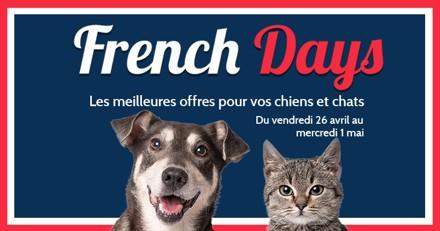 French Days : tous les bons plans pour vos chiens et chats