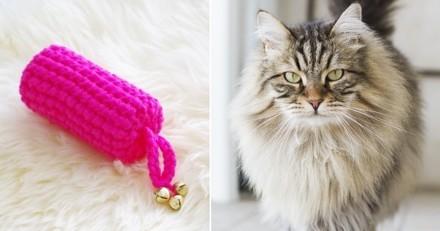 DIY : Comment transformer un simple rouleau de papier toilette en un adorable jouet pour chat ?
