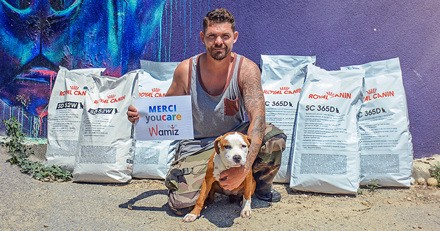 500 repas offerts à des animaux de refuge grâce à la communauté de Wamiz !