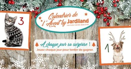 Calendrier de l'Avent Jardiland : tous les jours, remportez des cadeaux !