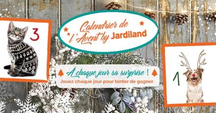 Calendrier de l'Avent Jardiland 2019 : ouvrez les cases et remportez des cadeaux !