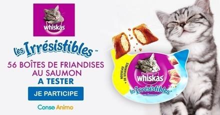 Testez les friandises pour chat Les Irrésistibles™ de Whiskas®