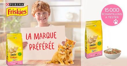 15 000 échantillons FRISKIES® Junior à tester avec votre chaton