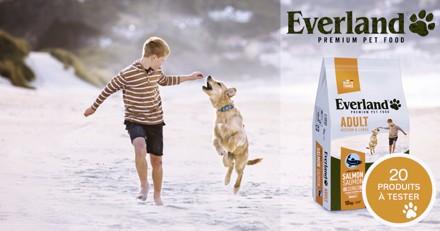 Testez les croquettes M&L saumon avec votre chien !