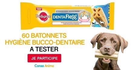 Testez le bâtonnet à mâcher pour chien Dentaflex™ de Pedigree®