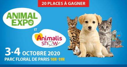 Concours Animal Expo 2020 : avez-vous gagné ?