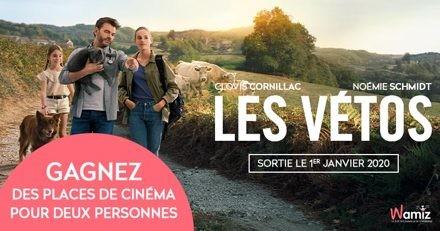 Concours : avez-vous gagné vos places pour le film «Les Vétos» ?