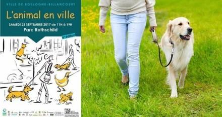 Ce samedi, venez fêter « l'animal en ville » à Boulogne-Billancourt !