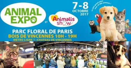 SAVE THE DATE : Ne manquez pas l'Animal Expo - Animal Show les 7 et 8 octobre !