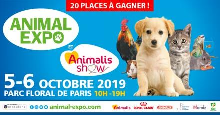Concours Animal Expo 2019 : avez-vous gagné ?
