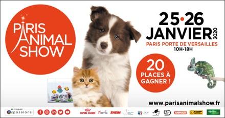 Concours Paris Animal Show 2020 : avez-vous gagné une place ?