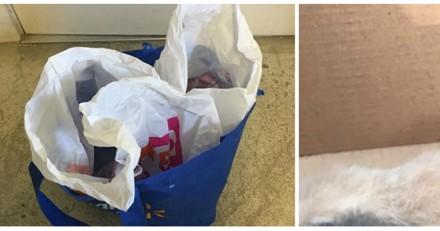 Ils trouvent un sac abandonné dans les toilettes et découvrent la chose la plus triste au monde