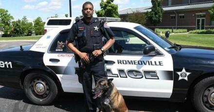Ce policier révèle le talent caché de son chien et personne ne peut en croire ses yeux (Vidéo)