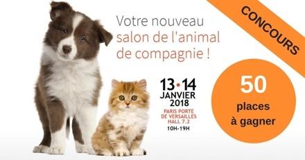 Concours : 50 places à gagner pour le salon Paris Animal Show 2018 !