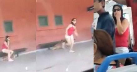 A la gare avec son chien, elle se met à courir quand le train ferme ses portes. La vidéo indigne le monde entier