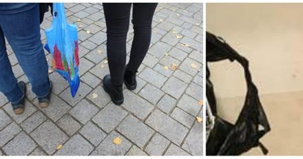 Un couple trouve le plus petit animal abandonné dans un sac en pleine rue
