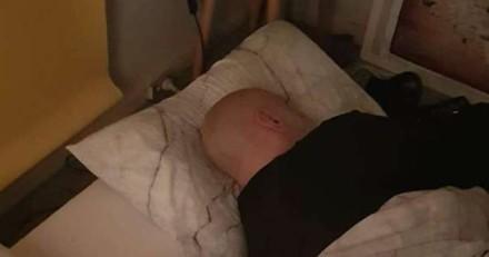 Réveil après une bonne nuit : ce qu'il trouve à côté de lui dans le lit le laisse perplexe !