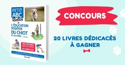 Concours : avez-vous gagné un exemplaire du Petit ABC de l'éducation positive du chiot et du chien ?