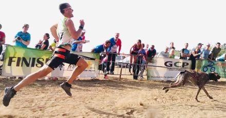 Antony Le Moigne : bientôt le premier record du monde de vitesse du 1000m en canicross !