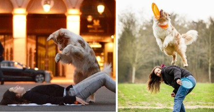 Cette jeune fille de 17 ans a vu sa vie transformée par sa chienne, leur histoire est magnifique (Vidéo)