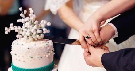 Gâteau surprise : lors de leur mariage, les mariés ont éclaté de rire en voyant la pièce montée !