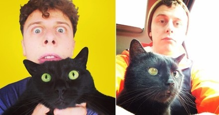 Norman est en deuil : Sergi son fidèle chat noir est décédé