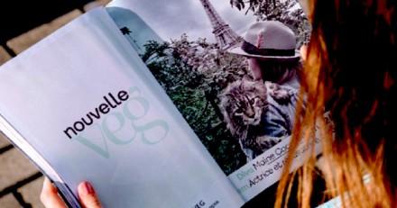 Nouvelle Veg, le 1er magazine 100% veggie !