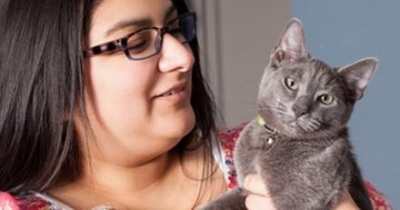 Ce chat de sauvetage a sauvé deux fois la vie de son humaine diabétique