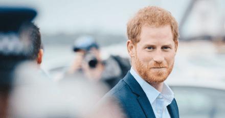 Le Prince Harry fait fondre les internautes après une rencontre avec un chien policier