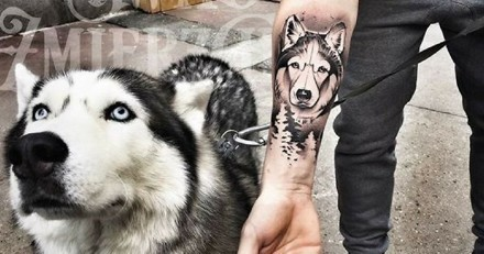 20 idées de tatouages inspirés par nos amis les chiens