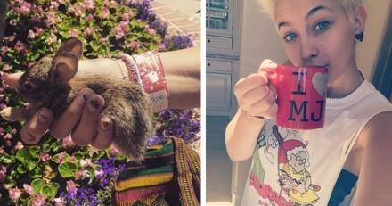 La fille de Michael Jackson adopte un petit lapin sauvage… et se fait incendier sur le Web