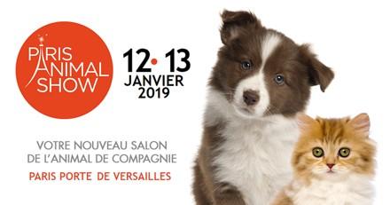 Le salon Paris Animal Show est de retour les 12 et 13 janvier 2019 !