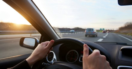 Sur l'autoroute, ils entendent un hurlement et décident de se garer. En ouvrant le capot, ils n'en reviennent pas