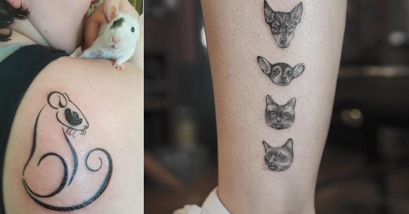 11 tatouages qui prouvent que ceux inspir s de nos animaux sont les plus beaux insolite wamiz. Black Bedroom Furniture Sets. Home Design Ideas