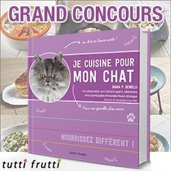 concours je cuisine pour mon chat